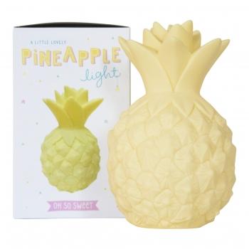 Yellow Mini Pineapple Night Light