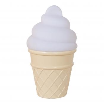 White Mini Ice Cream Night Light