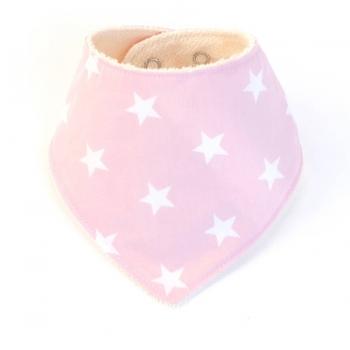 Pink Pearl Pop Bib
