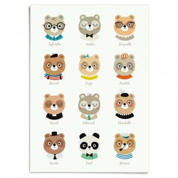 Lovely Bears - 12 Ours Poster
