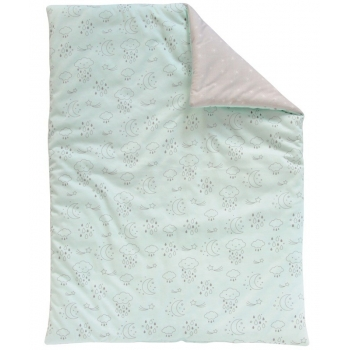 Blue Small Quilt