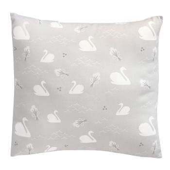 Grey Swan Cushion
