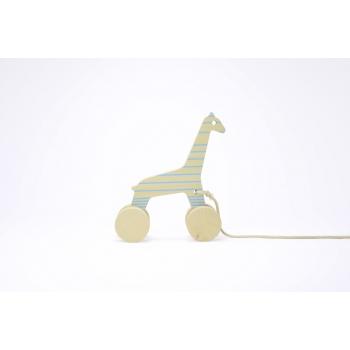 Sofia the Giraffe - Blue Lines