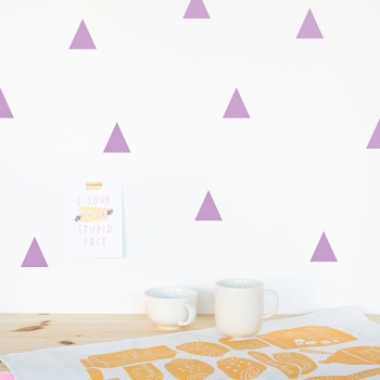 Lavender Triangle Wallstickers