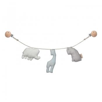 Mint Animal Pram chain