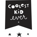 Coolest Kid Ever Wall Stickers