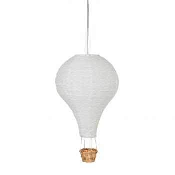 Mint Air Balloon Lamp