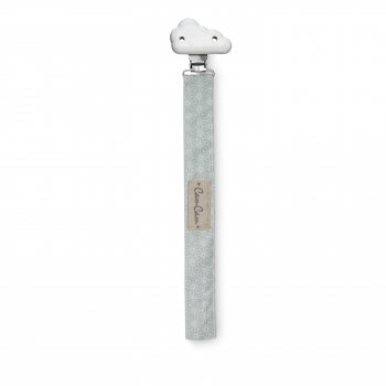 Sashiko Mint Pacifier Holder