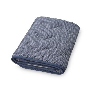 Sashiko Blue Blanket