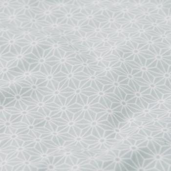 Sashiko Mint Cot Bumper