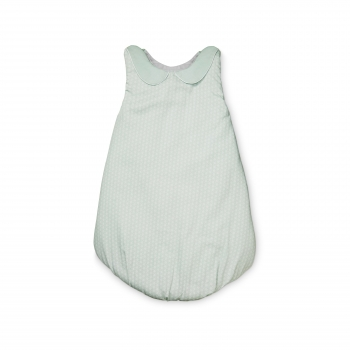 Sashiko Mint Sleeping Bag