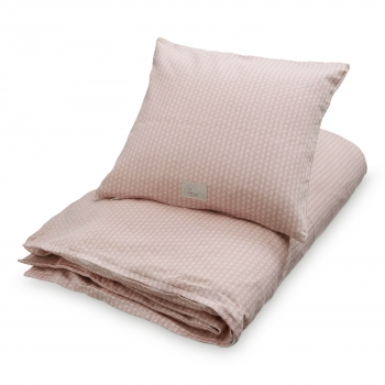 Sashiko Blush Baby Bedding