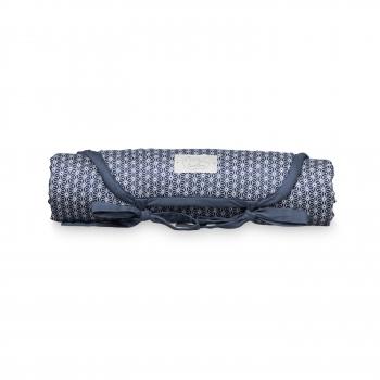 Sashiko Blue Changing Mat