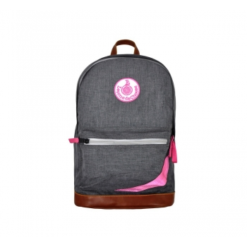 Grey / Pink Backpack
