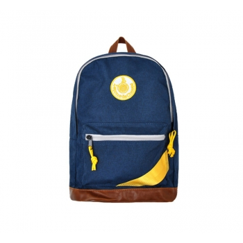 Dark Blue / Yellow Backpack