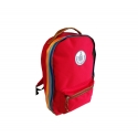 Red Retro Backpack
