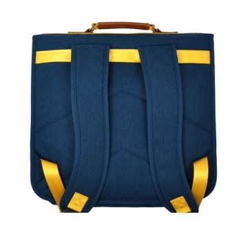 Blue / Yellow Schoolbag