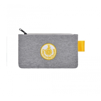 Small Light Grey / Yellow Pencil Case