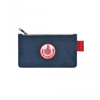 Small Dark Blue / Red Pencil Case