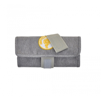 Light Grey / Green Pencil Case