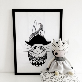 Tudor Bunny Poster