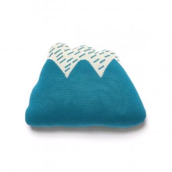 Starry Hill Cushion - Sky Blue