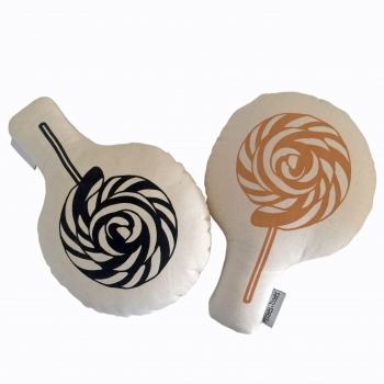 Caramel Softie Pop Rattle