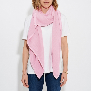 Powder Pink Luxury Scarf Swaddle