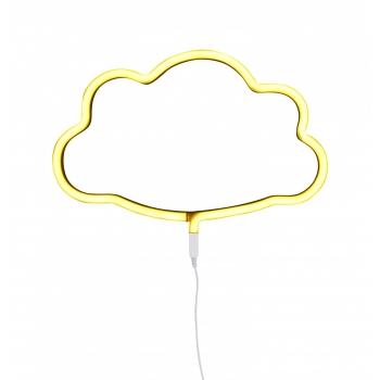 Yellow Cloud Neon Style Light