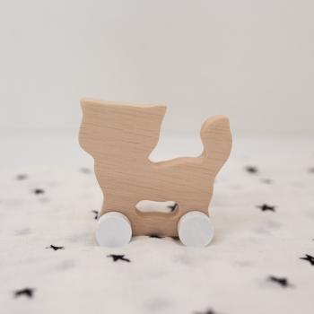 Wooden Cat - Maxi