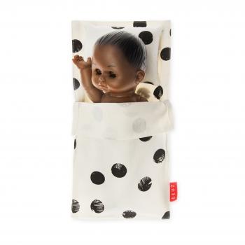 Black Dots Mini Beddy-Bye Bag