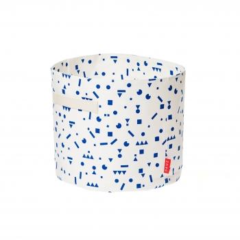 Blue Stickers Storage Basket