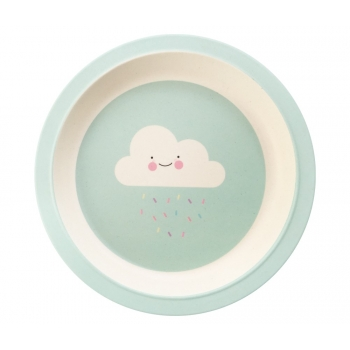 Bamboo Plate - Lovely Weather