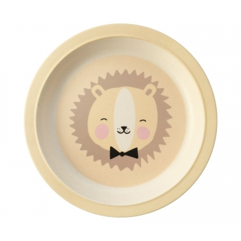 Bamboo Plate - Lovely Animals