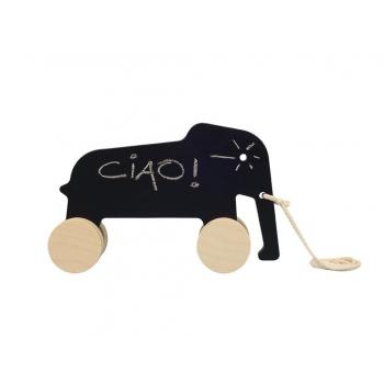 Pull Toy - Eddy the Elephant - Blackboard