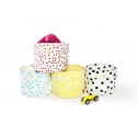 Fuchsia Storage Basket