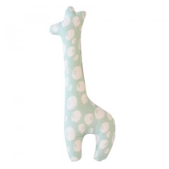 Giraffe Rattle - Balloon turquoise