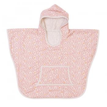 Poncho - Pebble Pink