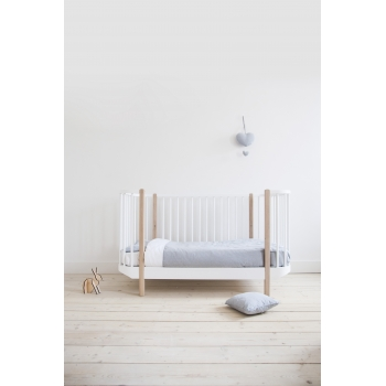 Cot Bedding - Sirene Grey