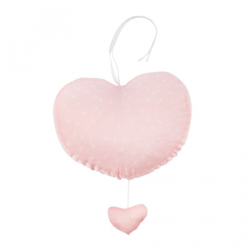 Music Heart - Pink Bows