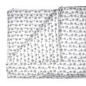 Grey Elephant Duvet (Single)