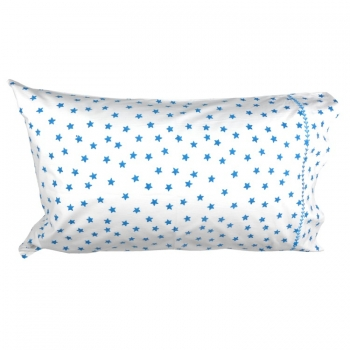 Blue Stars Pillow Cover