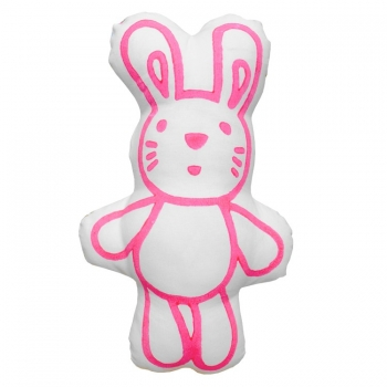 Bunny Printed Cushion