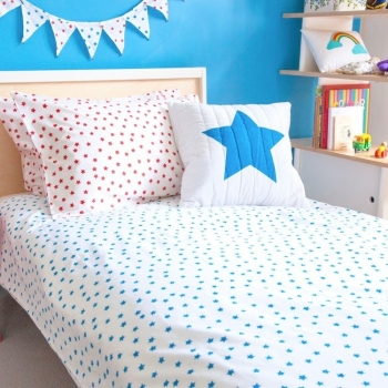 Blue Stars Duvet (Single)