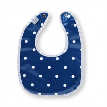 Blue Bombshell Eating Bib