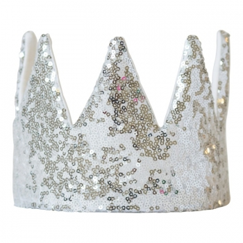 Diamond Sequin Crown