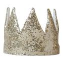 Golden Sequin Crown