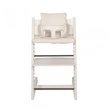 Highchair Cushion - Diamond Ivory