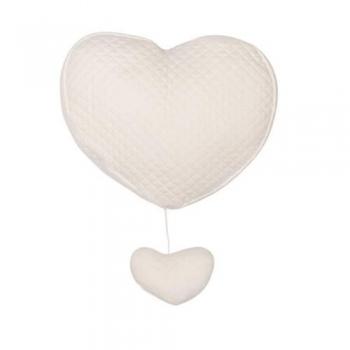 Music Heart - Diamond Ivory