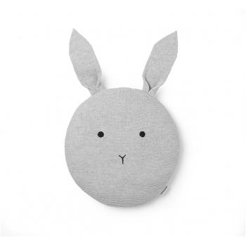 Knit Pillow Kaj - Rabbit